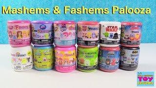 Fashems & Mashems Palooza My Little Pony Batman Disney Princess & More Toy Opening | PSToyReviews