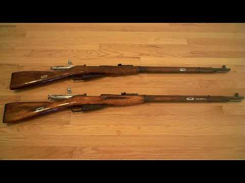 Russian Mosin Nagant 91/30 Ex-Dragoon and the differences between pre and post war stocks