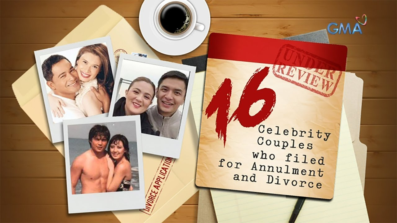 16 celebrity couples who filed for annulment and divorce