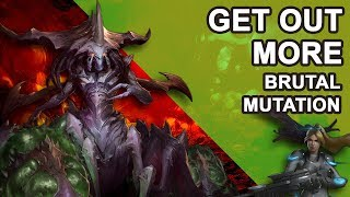 Starcraft 2 Co-op Brutal Mutation: Get out more [ Zagara ]