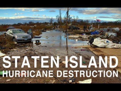 Staten Island Hurricane Destruction