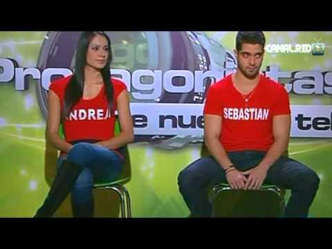 Protagonistas de Nuestra Tele 2012 - ELIMINACIÓN: Andrea y Sebastián [9 de Septiembre]