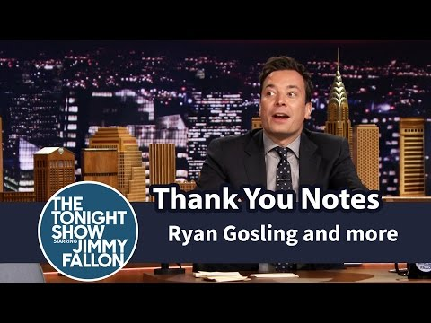 Thank You Notes Ryan Gosling and Eva Mendes, Geysers, Boyz II Men