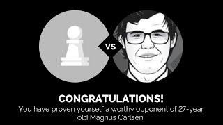 Play Magnus - Beating 27 Years Old Magnus Carlsen