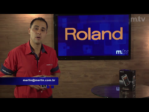 R-05 Gravador portátil - Roland