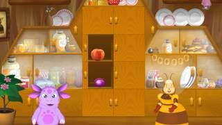 Обучающийй мультфильм для детей Лунтик: Буфет. Развивающий мультфильм для детей.
