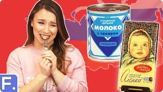 Irish People Taste Test Russian Snacks