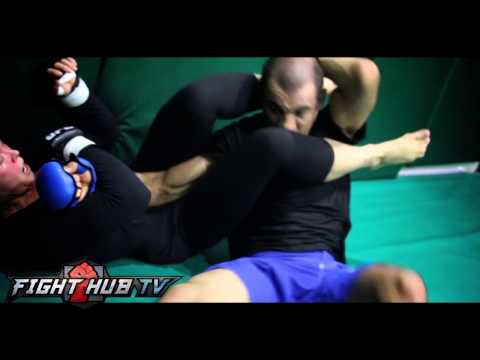 Ronda Rousey grappling training w/ Ryron Gracie- UFC 175 prep for Alexis Davis Image 1