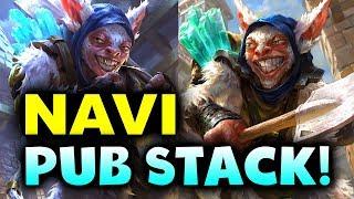 NAVI vs PUB STACK! - CRAZY ELIMINATION! - BUCHAREST MINOR DOTA 2