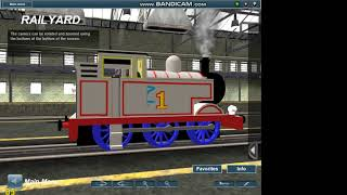 sam the thomas fan in trainz