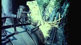 skirmish on the top of the train: Germans vs Yugoslav underground