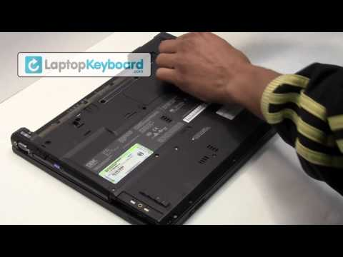 IBM LENOVO Laptop Keyboard Installation Replacement Guide - Remove Replace Install