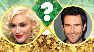 WHO'S RICHER? - Gwen Stefani or Adam Levine? - Net Worth Revealed! (2017)
