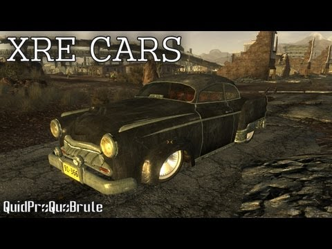 Fallout New Vegas - Mods - XRE Cars (Drivable Cars)