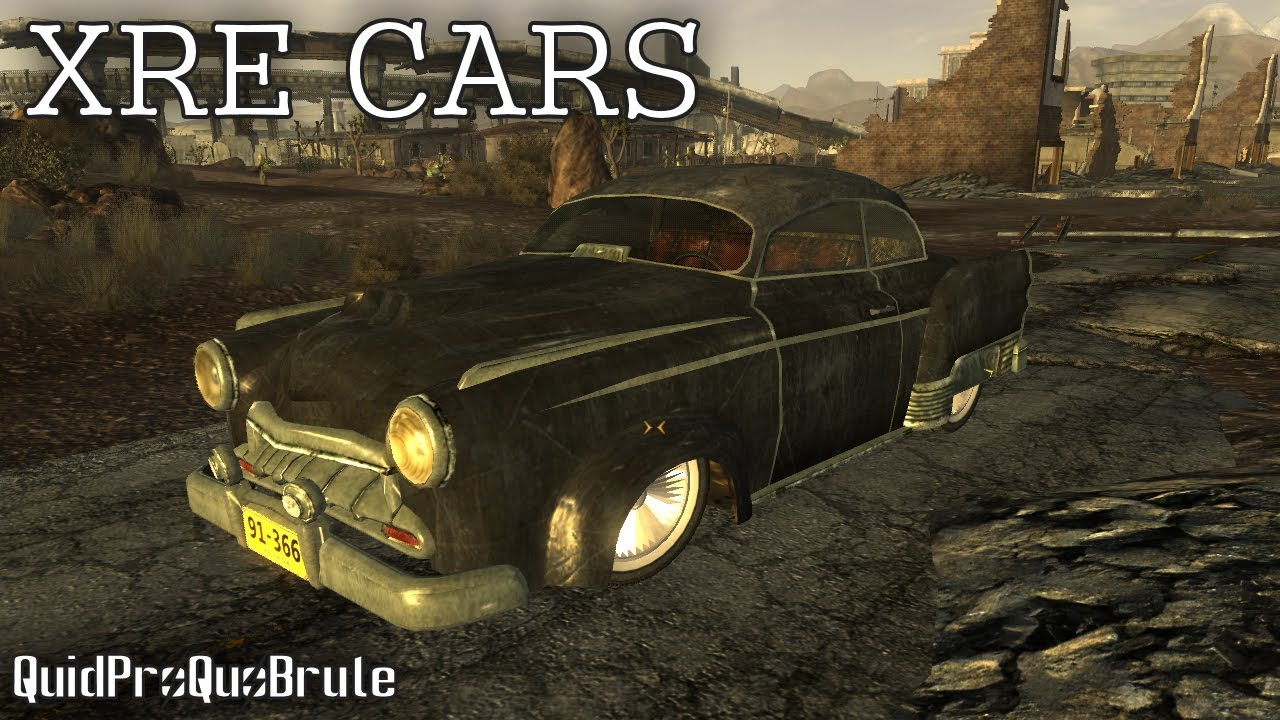 Fallout New Vegas Cars Fallout New Vegas Mods Xre