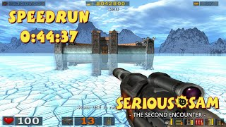 Serious Sam: The Second Encounter - SpeedRun - 0:44:37