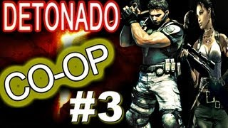 Resident Evil 5 - DETONADO CO-OP (Veterano) - Cap. 2-2 Video #3