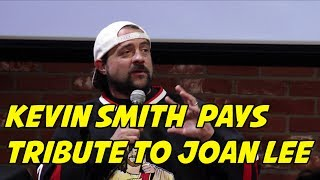 BabbleVision: Kevin Smith Pays Tribute to Joan Lee