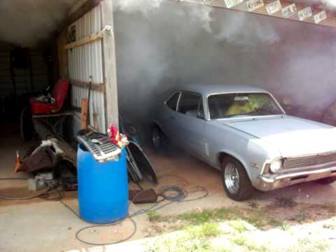 1970 Nova burnout 383 stroker. Video