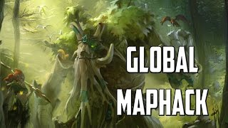 Global Overgrowth Global MapHack - FNG 14 mins Aghanim rush on Treant