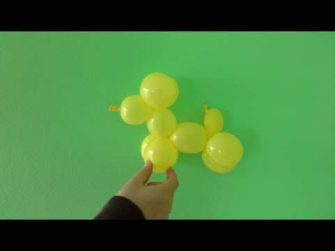How to Make a Balloon Dog (One Balloon)