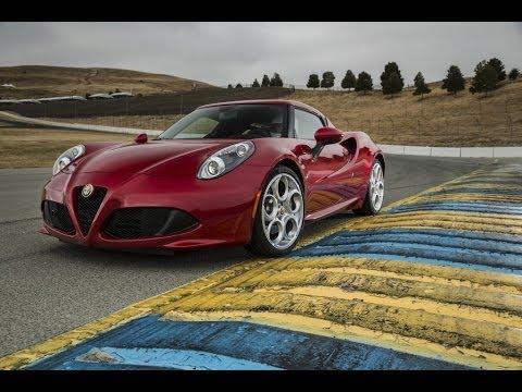 2015 Alfa Romeo 4C First Drive