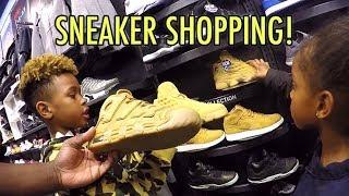 Tekkerz Kid goes Sneaker Shopping   Nike Jordan Sneaker Collection
