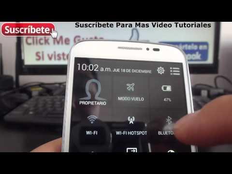 Alcatel Onetouch Pop C7 como configurar el wifi del celular Español