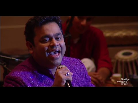 A. R. Rahman Concert Highlights With The Berklee Indian Ensemble video