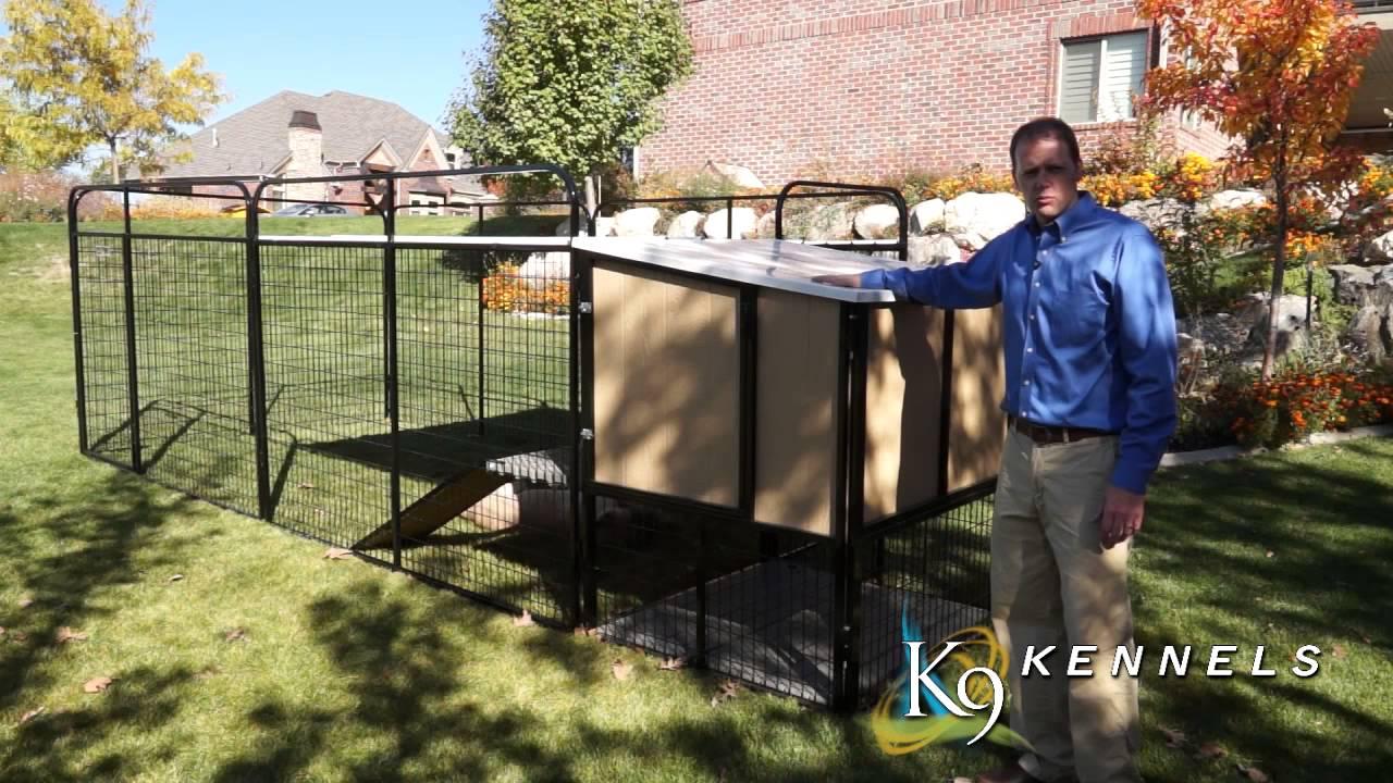 Large Breed Dog Kennel