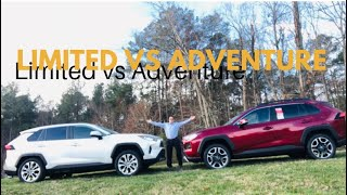 2019 RAV4 Adventure vs Limited: You Decide the Winner!