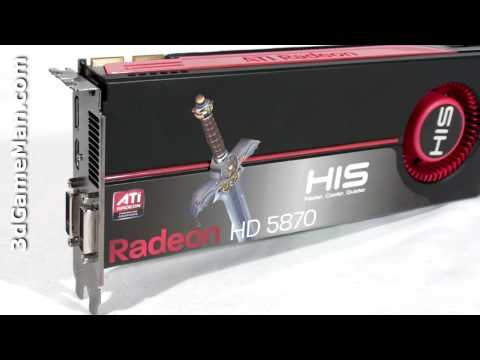 #1096 - HIS HD 5870 1GB GDDR5 Video Card Video Review