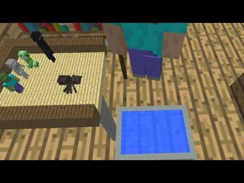 Monster School: Diving (Minecraft Animation)