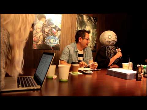 NieR: New Project - Developer Interview with Yosuke Saito and Taro Yoko (HD) 1080p