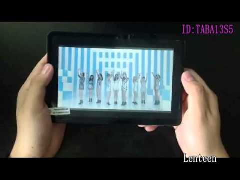 Allwinner A13 7 inch android 4.0 cheap tablet pc Review