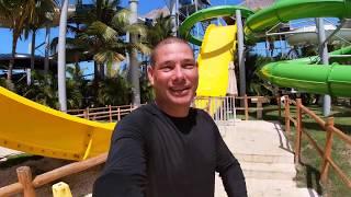 GRITOS DE TERROR EN TOBOGAN DEL PARQUE DE AGUA ROYALTON Memories Splash Punta Cana