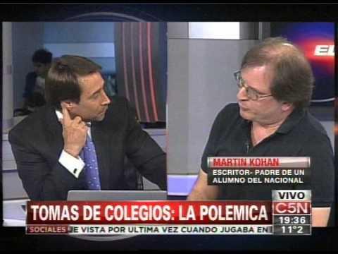 C5N - EDUCACION: POLEMICA POR LA TOMA DE COLEGIOS (PARTE 1)
