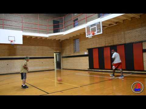 Lebron James' SON Basketball PHENOM 9 years old
