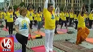 President Ramnath Kovind Participates In International Yoga Day Celebrations At Germany