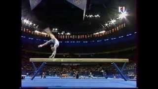 Claudia PRESECAN (ROM) beam - 2000 Sydney Olympics EF