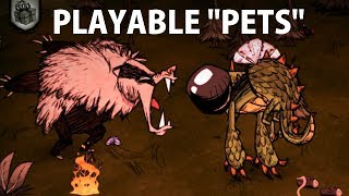 Don't Starve Together: Playable Pets Mod (Playing as Krampus, the Dragonfly, and More!)