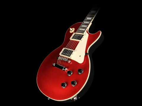 Hard rock backing track in E