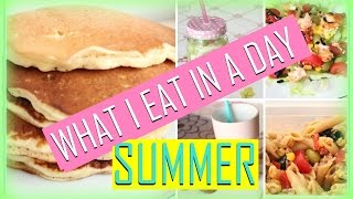 What I Eat in a Day #1 SUMMER 2015❤