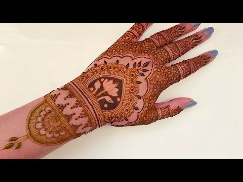 simple bridal mehandi designs for girls // Best fashion alert