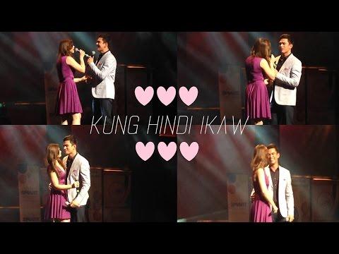 """Kapusong Pinoy sa LA: Tom Rodriguez and Carla Abellana Sing """"Kung Hindi Ikaw"""""""