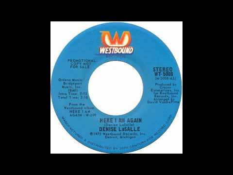 Denise Lasalle - Here I Am Again - Raresoulie
