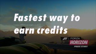 Game   Forza Horizon How to quickly earn credits   Forza Horizon How to quickly earn credits