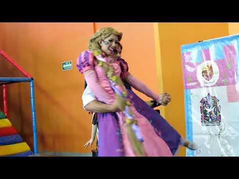 PrincesShow : Show Infantil de Princesas Monterrey - Enredados - Rapunzel - Flynn Rider - Campanita