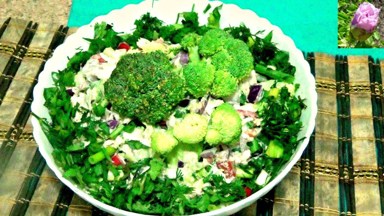 Салаты с брокколи рецепты с простые и вкусные рецепты