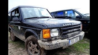 Land Rover Discovery TD5 brod / Wading